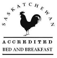 Saskatchewan Accredited Bed and Breakfast